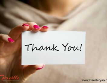 How to write an effective thank you note