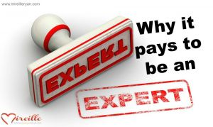 Why it Pays to be an Expert