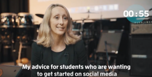 Advice for Students Getting started in Social Media