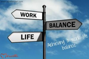 Achieving a work life balance